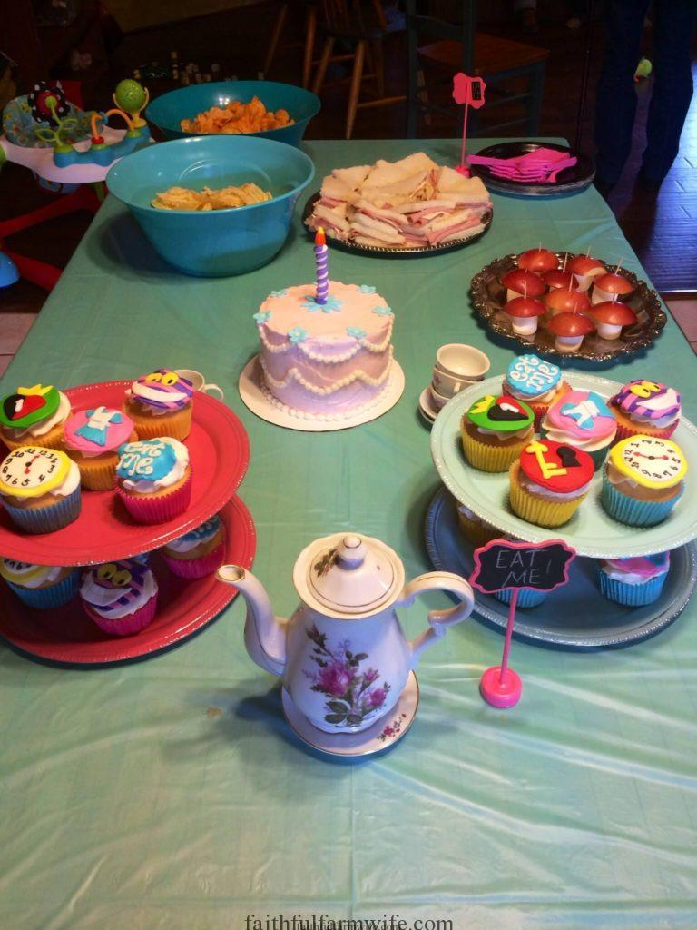 1st Birthday Party- Alice in ONEderland- Decorations