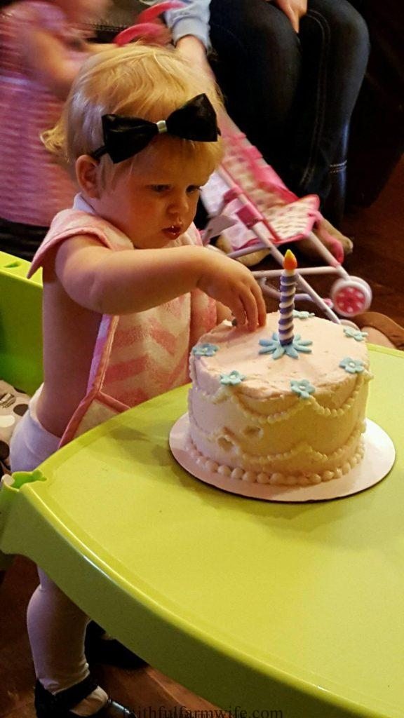 1st Birthday Party- Alice in ONEderland- Smash Cake