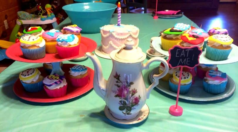 Alice in ONEderland Birthday Party