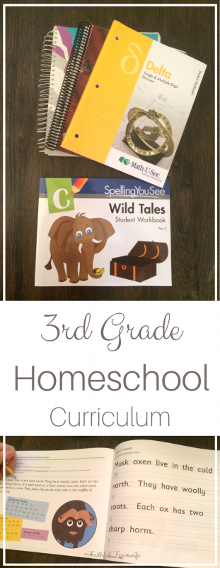 There are so many options when it comes to homeschool curriculum! Grab some inspiration from my 3rd Grade Homeschool Curriculum picks!