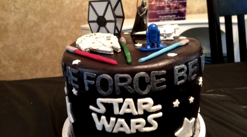 Throwing a DIY Star Wars Birthday Party