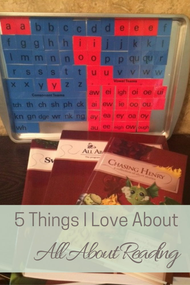 5 Things I Love About All About Reading