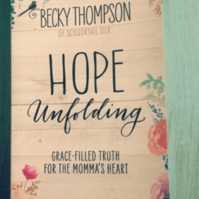 """Hope Unfolding"" by Becky Thompson- Book Review"