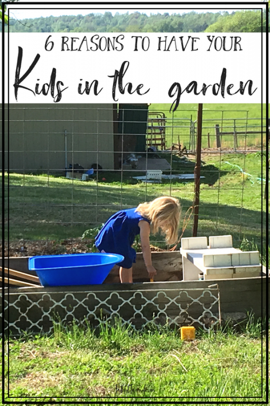 In today's busy life, a garden seems like another added project, but it can offer a rich learning opportunity. Check out some of the amazing benefits of gardening with kids! #Gardening #KidsInTheGarden