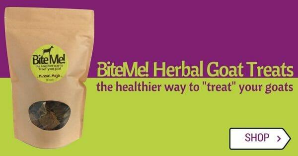 BiteMe Herbal Goat Treats