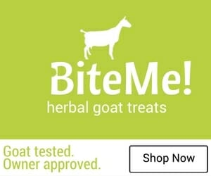 Bite Me Herbal Goat Treats