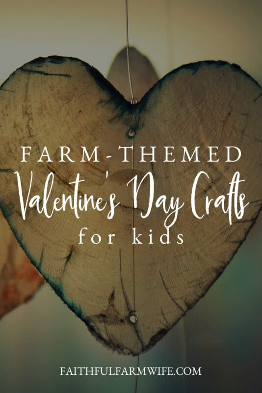 Looking for a different activity for your kids this V-Day? Check out these Farm Themed Valentine's Day Crafts that double as educational animal lessons! #farmcrafts #valentinesday #valentinesdaycrafts #vday