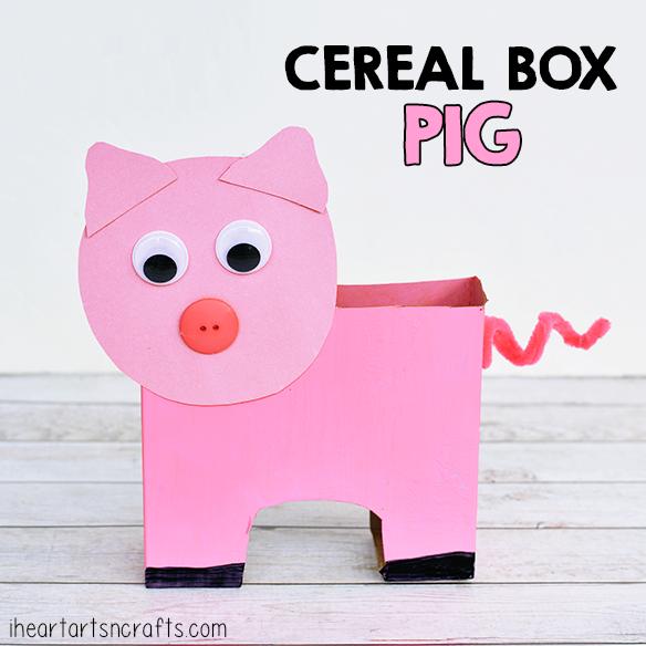 Valentine's Day Pig Mailbox