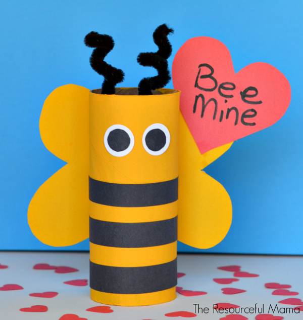 Bee Mine Valentine's Day Craft