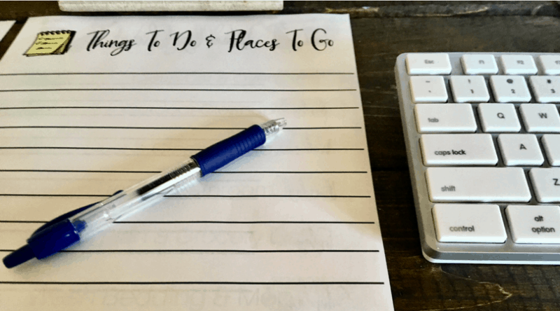 Using Productivity Lists to Simplify Your Daily Life