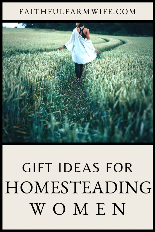 What do you buy for a homesteading woman who dreams of simple living, chickens, and tomatoes? Check out these 11 homestead mom gift ideas that she will love to receive for any occasion! #Homesteading #HomesteadingWomen #WomenOnTheHomestead #HomesteadMom #MamasOnTheHomestead #GiftIdeas #MomGiftIdeas