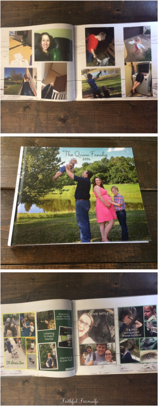 Organizing family photos can be tough. Get them in order & preserve precious memories by creating a family photo book each year!