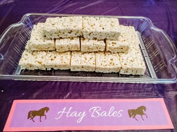 Hay Bales | Horse Birthday Party Activities, Food, & Decorations | Faithful Farmwife