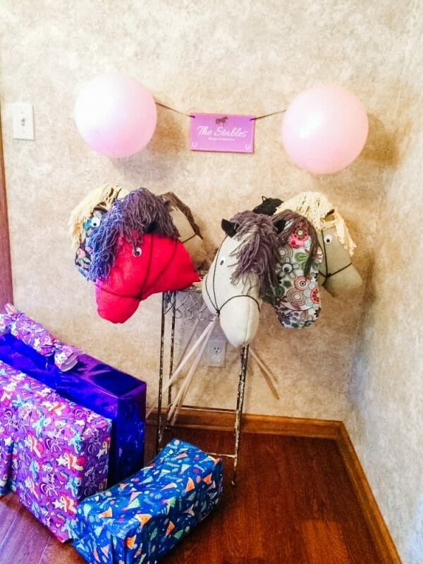 DIY Stick Horses | Horse Birthday Party Activities, Food, & Decorations | Faithful Farmwife