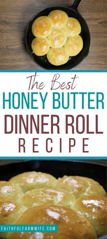 Rolls can bring just about any meal together. Learn how to make these delicious Honey Butter Dinner Rolls for your family! #dinnerrolls #fromscratch #homemade #dinnerrecipes
