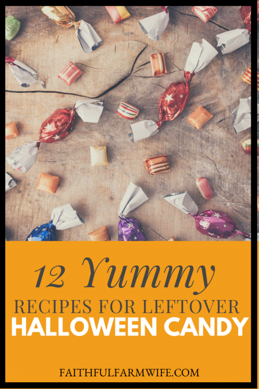 What in the name of pumpkin spice can you do with all of your leftover Halloween candy? Check out these 12 recipes that will put your surplus to use and give you some extra tasty treats! #HalloweenCandy #LeftoverCandy #CandyRecipes #DessertRecipes