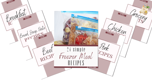 24 Simple Freezer Meal Recipes Ebook | Faithful Farmwife