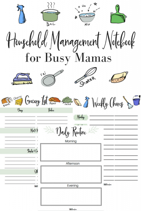 Mama, you have so much going on these days...How on earth are you supposed to keep up with it all?? Check out my tips & printable household management lists to get you started!