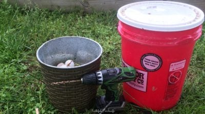 Bucket Compost Bin | 70+ Practical Homesteading Essentials You Need for Self-Sufficiency | Faithful Farmwife