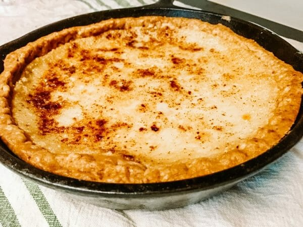 The Best Southern Sugar Cream Pie Recipe | Faithful Farmwife