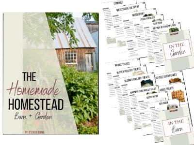 The Homemade Homestead: Barn + Garden | Faithful Farmwife