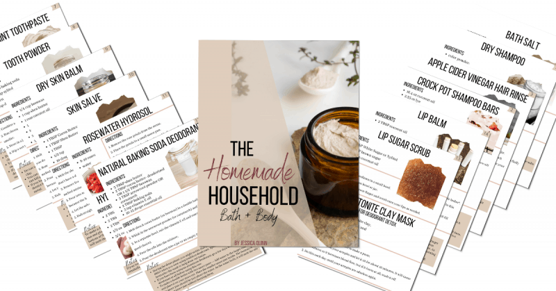 The Homemade Household: Homemade Recipes Collection | Faithful Farmwife