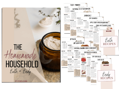 The Homemade Household: Bath & Body | Faithful Farmwife