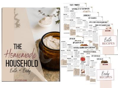 The Homemade Household: Bath & Body | Faithful Farmwife