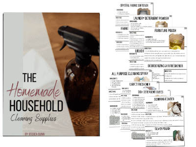 The Homemade Household: Cleaning Supplies | Faithful Farmwife