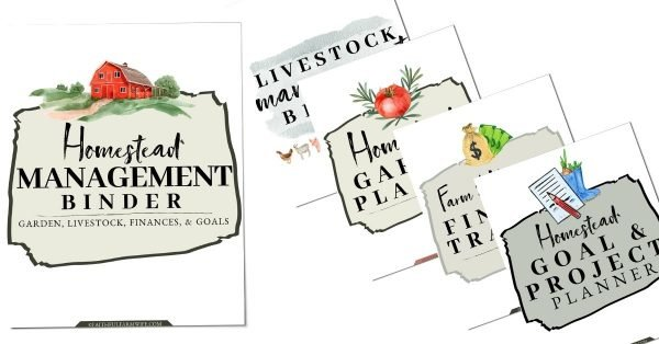 The Homestead Management Binder   Faithful Farmwife