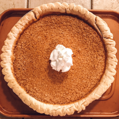 Sweet Southern Persimmon Pie