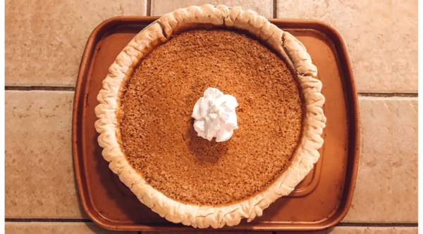 Sweet Southern Persimmon Pie | Faithful Farmwife