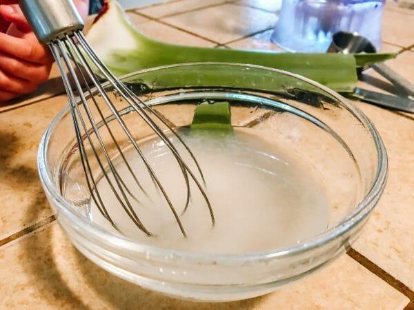 Homemade Hand Sanitizer with Aloe Vera   Faithful Farmwife