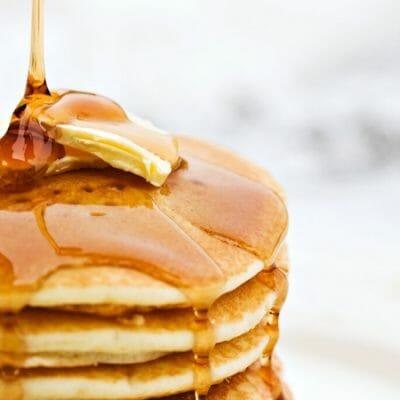 Homemade Pancake Syrup- Vanilla Butter