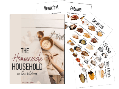 The Homemade Household: In the Kitchen | Faithful Farmwife