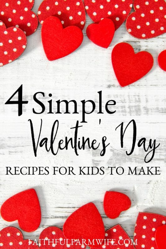 Looking for fun recipes to make with your children this Valentine's Day? Check out these super easy, kid-friendly, and delicious Valentine's Day recipes! #ValentinesDay #SweetTreat #ValentineFood