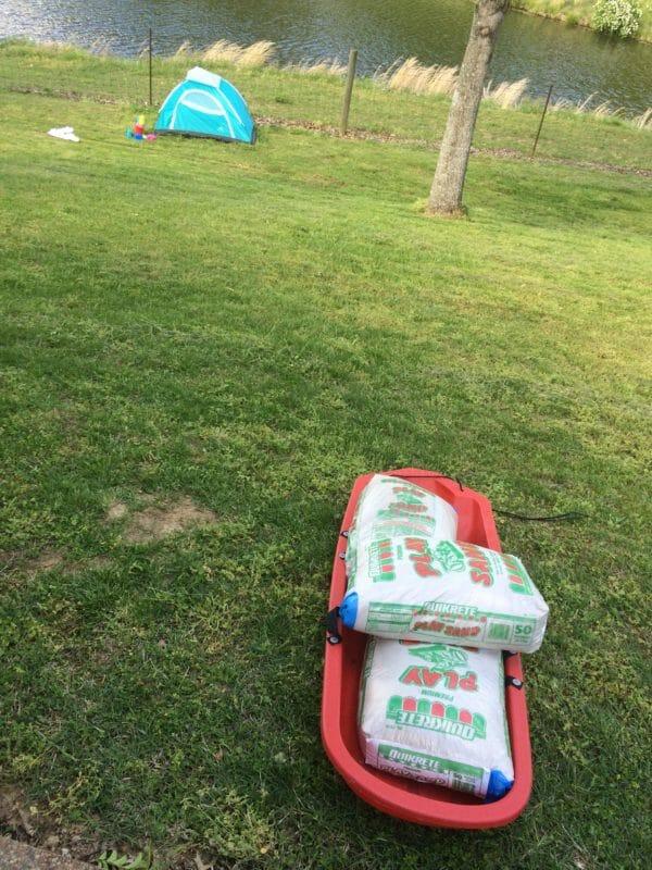 DIY Sand Box Tent Tutorial