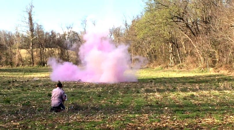 The Best Gender Reveal with Tannerite