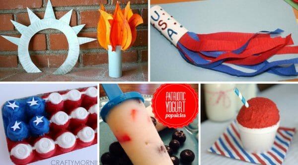 Simple 4th of July Craft Ideas + 4th of July  Recipes   Faithful Farmwife