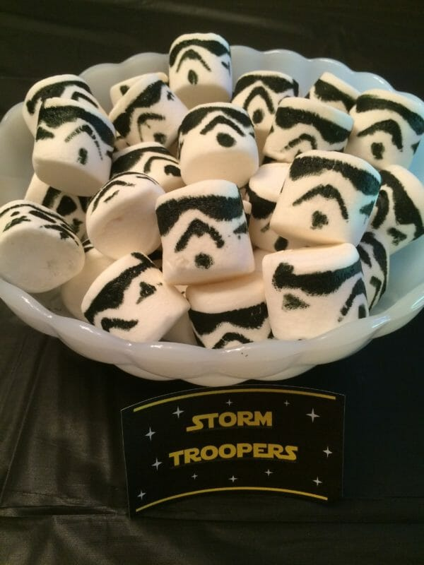 Storm Trooper Marshmallows | Faithful Farmwife