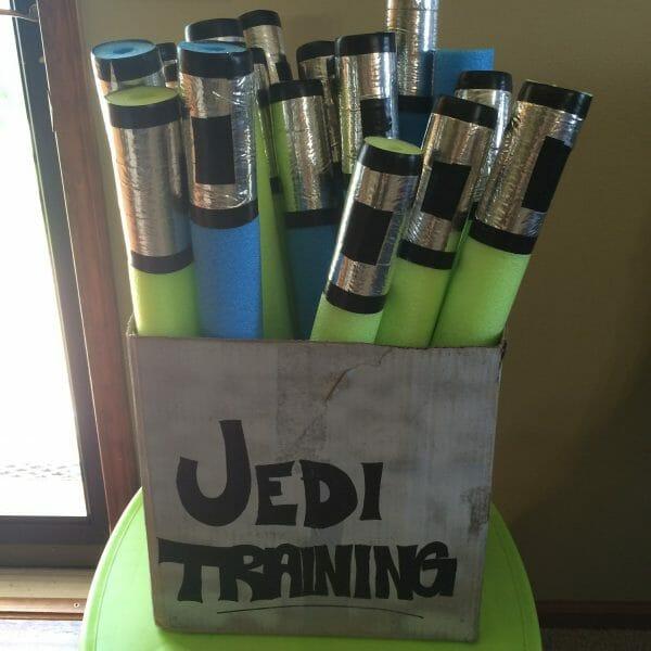 Pool Noodle Star Wars Light Saber