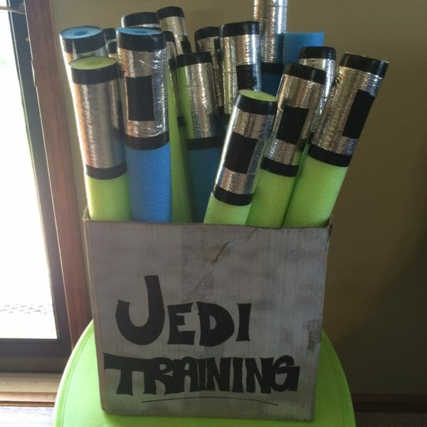DIY Jedi Lightsabers | Faithful Farmwife