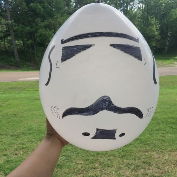Stormtrooper Balloons | Faithful Farmwife