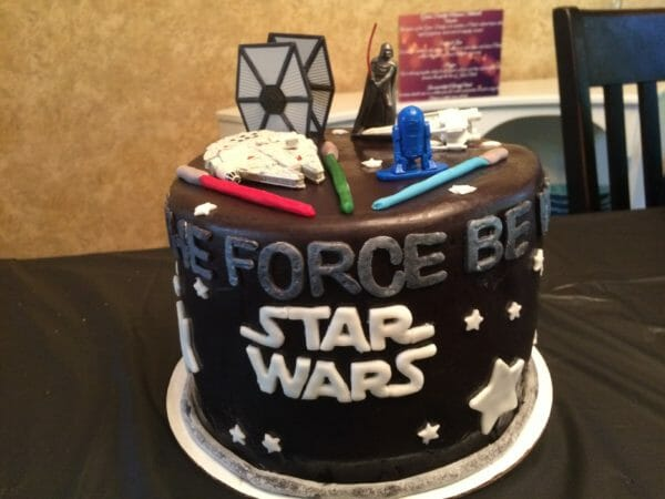 Star Wars Birthday Cake | Faithful Farmwife