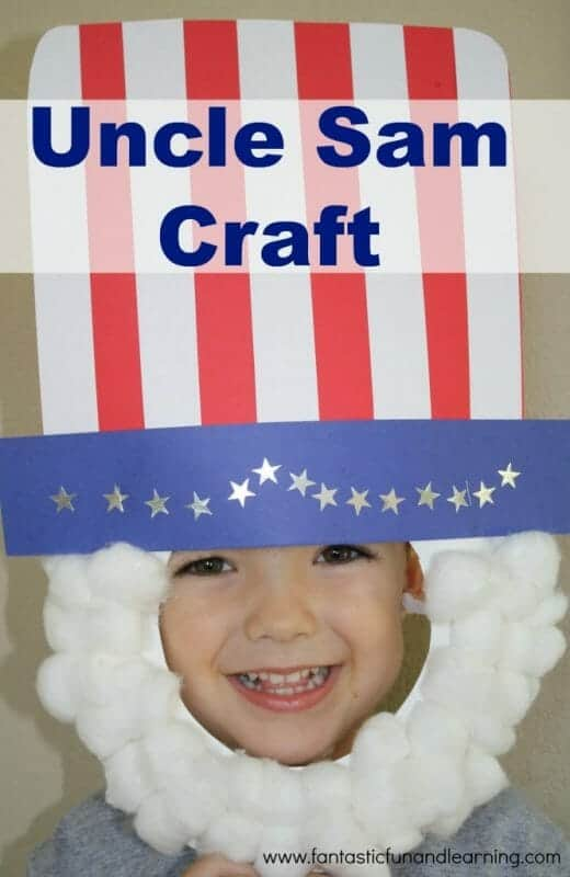 Uncle Sam Craft | Simple 4th of July Craft Ideas + 4th of July  Recipes | Faithful Farmwife