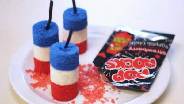 Firecracker Cake Pops | Faithful Farmwife