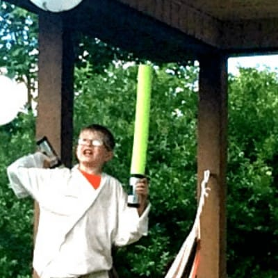How to Make Pool Noodle Light Sabers