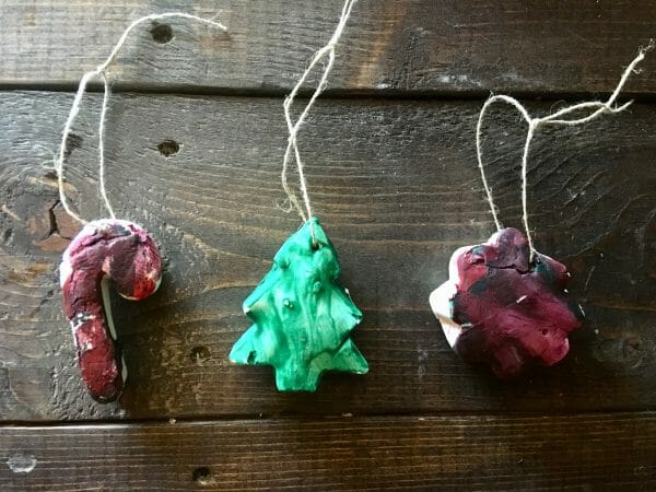 Salt Sough Ornaments | 5 New Christmas Traditions to Start this Year | Faithful Farmwife