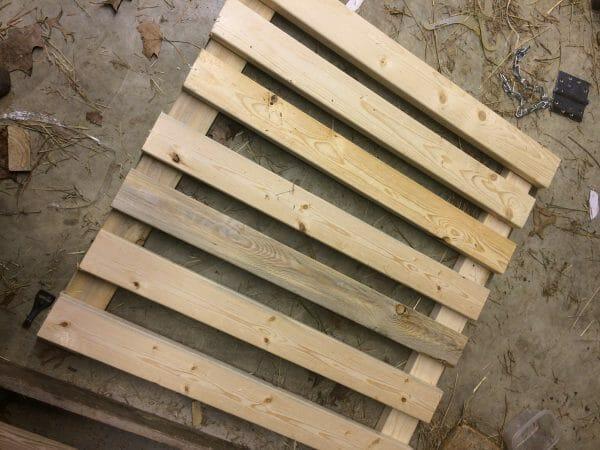 How to Build a DIY Baby Gate | Faithful Farmwife