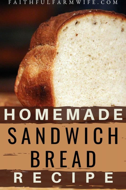 Making homemade bread saves money and allows you to control the ingredients used. Check out the bread machine sandwich bread recipe that I use here! #homemadebread #breadmachine #breadrecipe #sandwichbread #fromscratch
